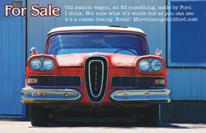 Edsel for sale - Larry West Art