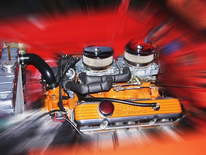 Mopar motor - Larry West Art