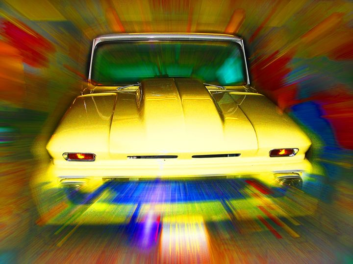 Abstract Chevy - Larry West Art