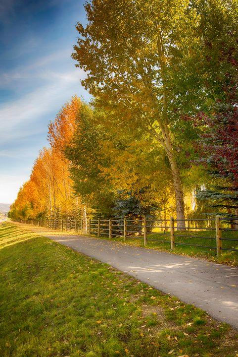 Legacy Ranch in Autumn - Aspen Ridge Gallery
