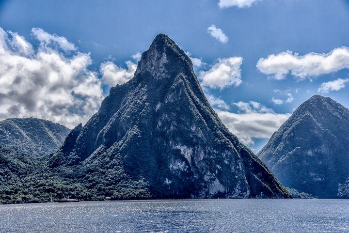 Gros Piton St Lucias - Aspen Ridge Gallery
