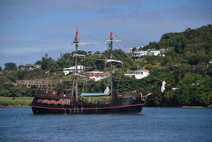 Pirate Ship - Aspen Ridge Gallery