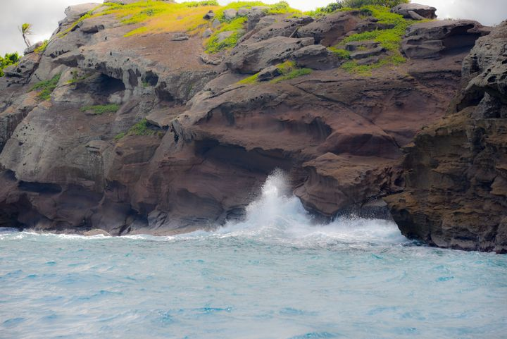 Island and surf - Aspen Ridge Gallery