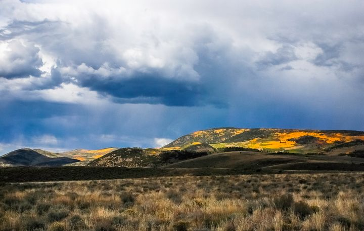 Autumn at Fish Lake, Utah - Aspen Ridge Gallery