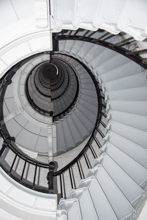 Ponce de Leon Lighthouse staircase - Aspen Ridge Gallery