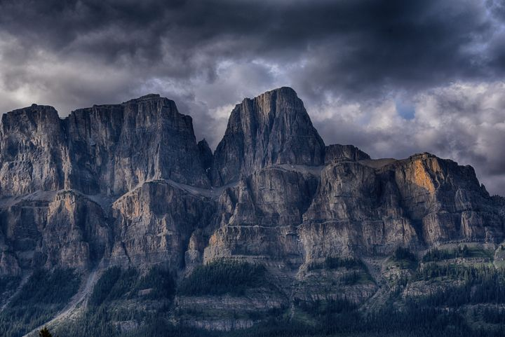 Castle Mountain, Baniff National Pk - Aspen Ridge Gallery