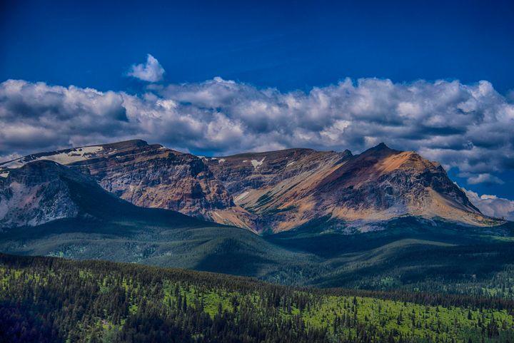 Mountains in Baniff, Canada - Aspen Ridge Gallery