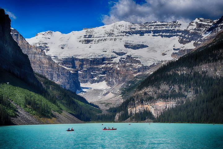 Lake Louise Baniff Canada - Aspen Ridge Gallery