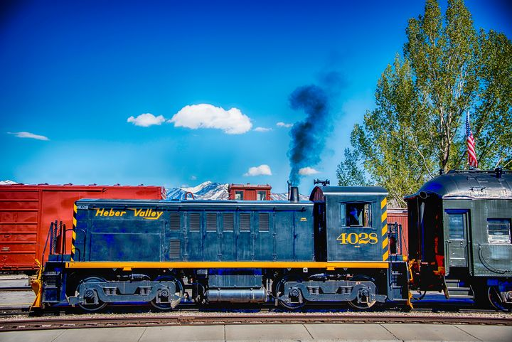 Big Blue 4028 - Aspen Ridge Gallery