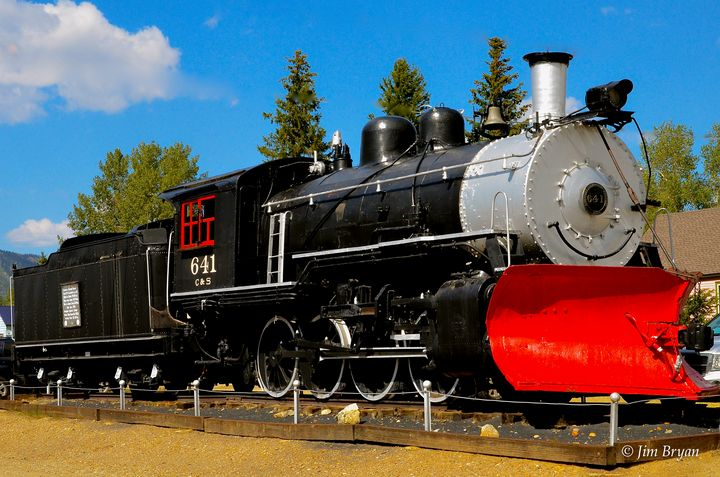 C & S 641 Engine, Leadville Colorado - Aspen Ridge Gallery