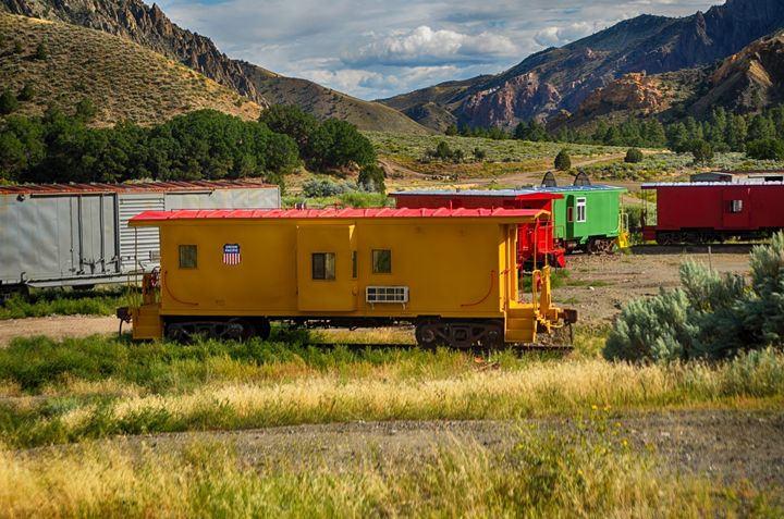 Valley of the caboose - Aspen Ridge Gallery