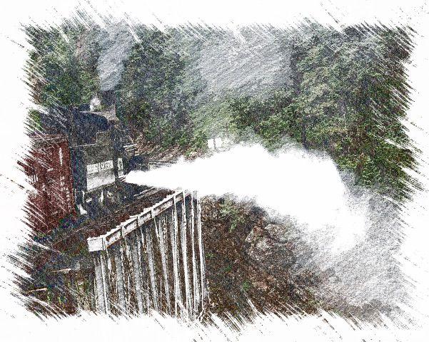 Dumping the steam - Aspen Ridge Gallery