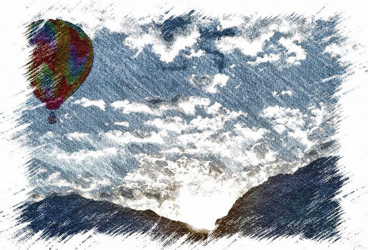 Balloon Sunrise Provo - Aspen Ridge Gallery