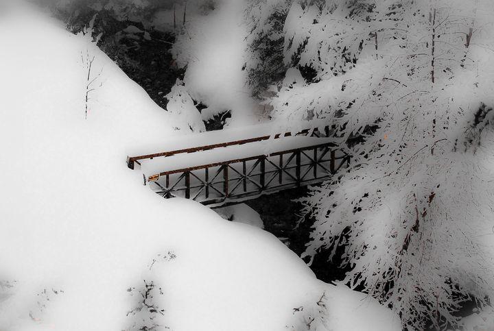 Snow Bridge at Sundance - Aspen Ridge Gallery