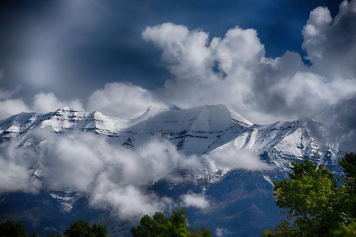 Mount Timp Wastch Front - Aspen Ridge Gallery