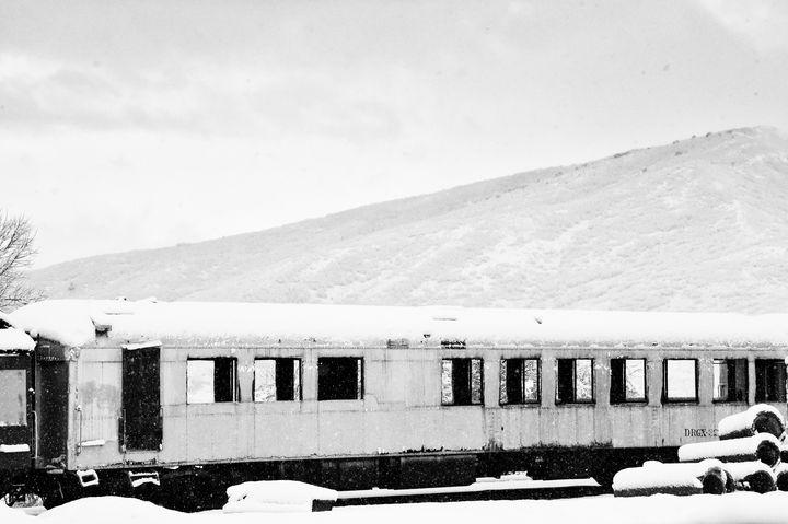Retired Passenger Car- Midway - Aspen Ridge Gallery