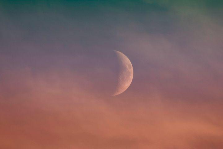 Summer time moon - Aspen Ridge Gallery