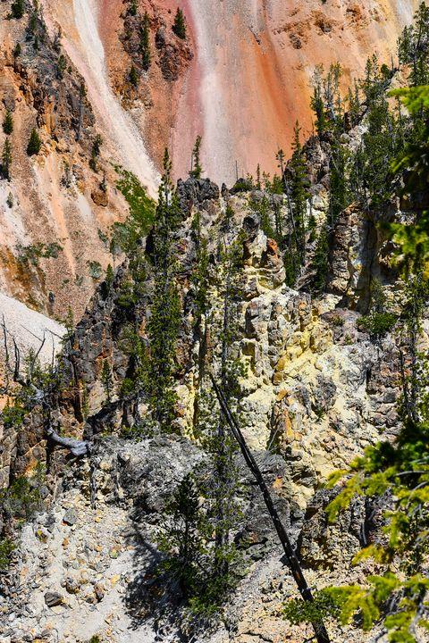 Colorful Yellowstone Grand Canyon - Aspen Ridge Gallery