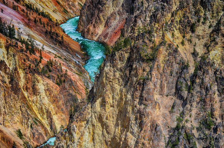 The Grand Canyon of the Yellowstone - Aspen Ridge Gallery