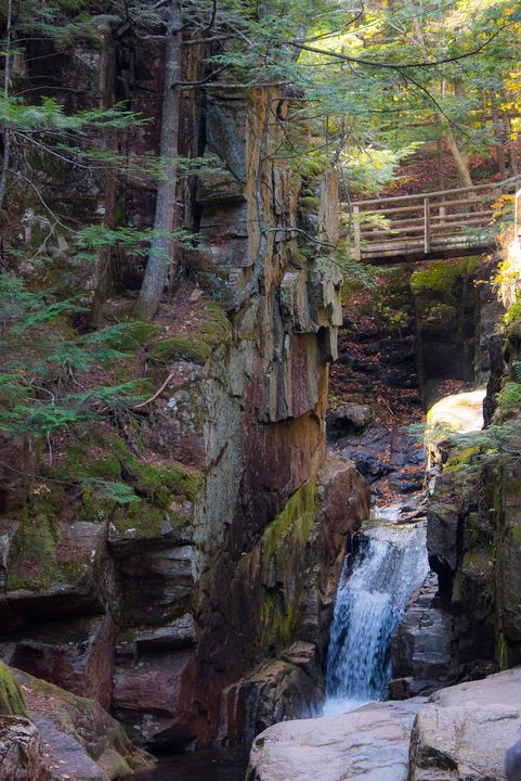 Sabbaday Falls, New Hampshire - Aspen Ridge Gallery
