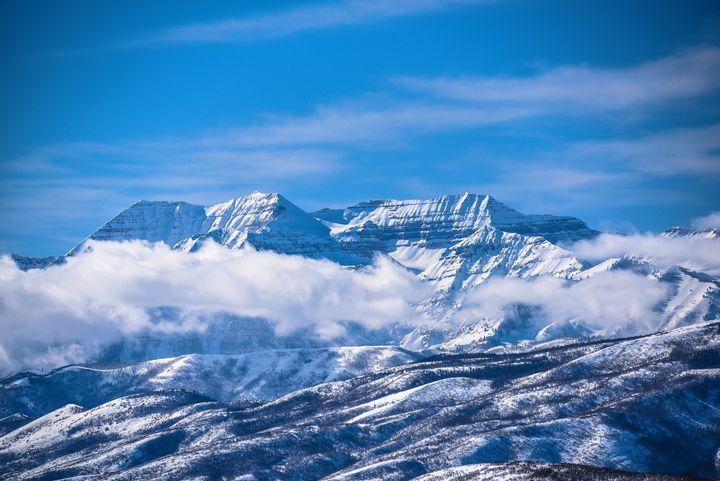 Mt Timpanogos, Utah - Aspen Ridge Gallery