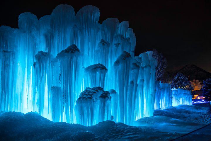 Ice Castles at the Homestead, Utah - Aspen Ridge Gallery