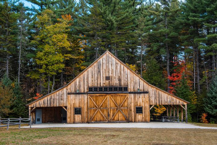Barn in New Hampshire - Aspen Ridge Gallery