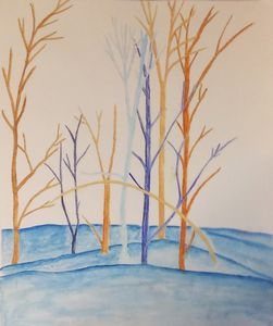 Complimentary Color Trees