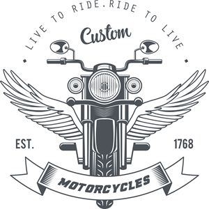 Live to ride custom motorcycles