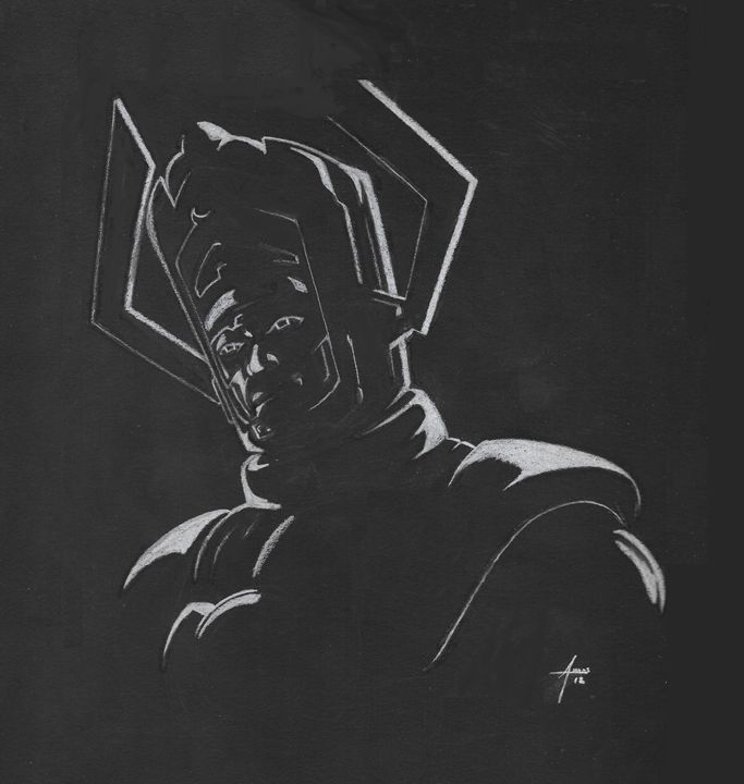 Galactus Noir - Illustrations