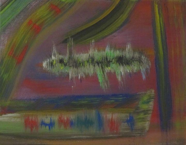 Green pillar - Frederick Agnew