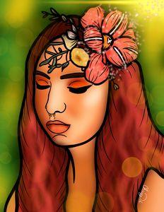 Magical Flower Digital Art
