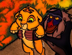 The Lion King Digital Art