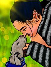Digital Art by Chrissy Adam