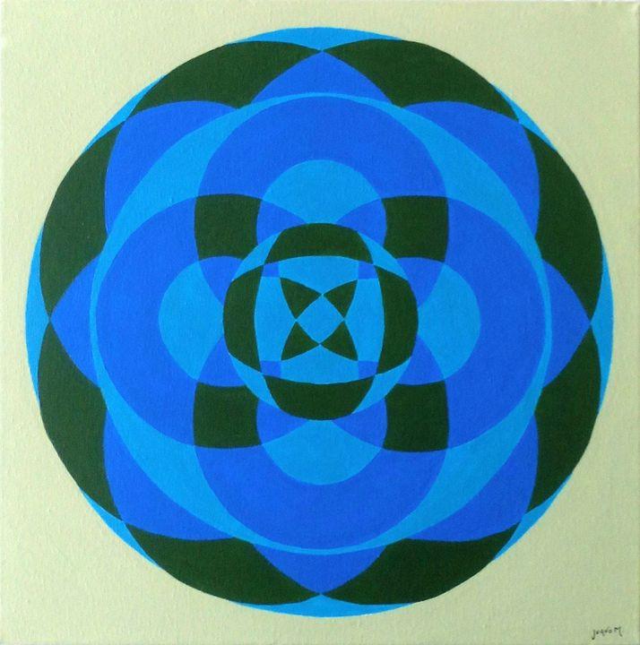 Mandala 151 - Juano M. Art Gallery
