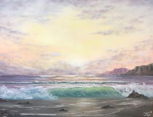 Purple Sunrise - TG Art