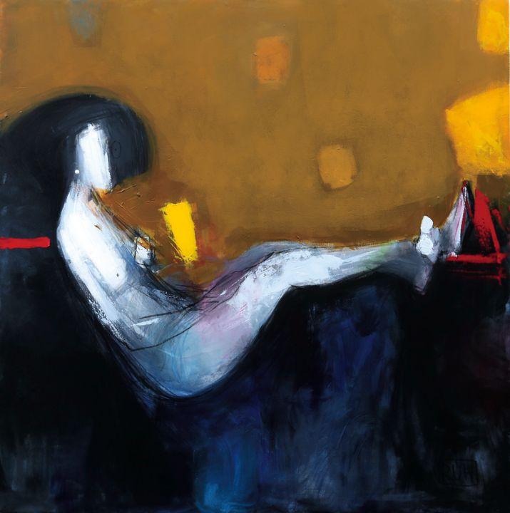 Reclining woman - Ruh Zadeh