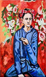Garcon A La Pipe. Replica Picasso
