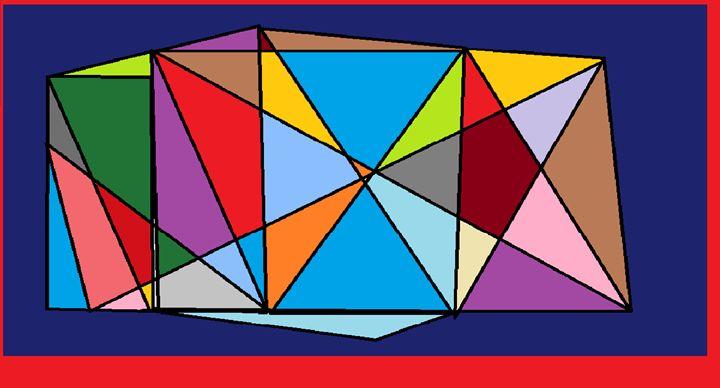 The Colourful House - Brandon's Original Art Gallery