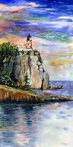 Majestic Split Rock