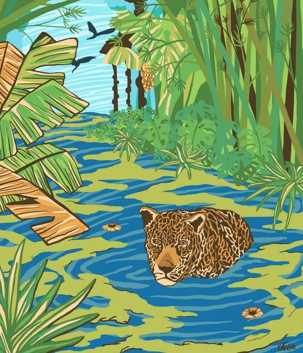 Jaguar's hunt - KatSerio