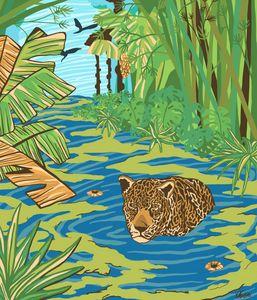 Jaguar's hunt