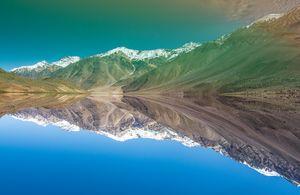 Himalayan Mountain Lake Chandrataal