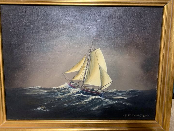 Marchington Sailboat - Mike's Art Collection