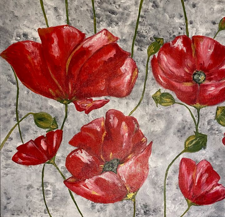 Summer poppies - Chloe Vera