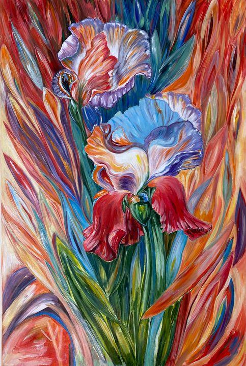Irises te fall - Chloe Vera