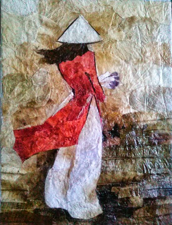 Red Ao Dai (Long Shirt) - SEN Imports