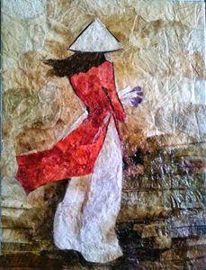 Red Ao Dai (Long Shirt)