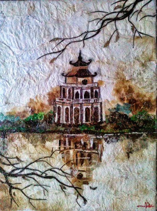 Pagoda and Reflection - SEN Imports