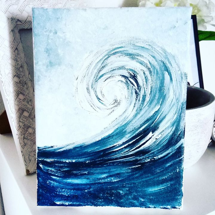 Mini wave - Gigi Garas Art
